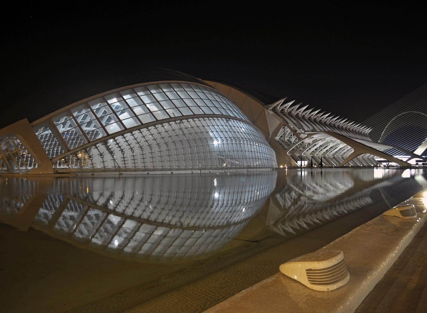 Architettura in Notturna