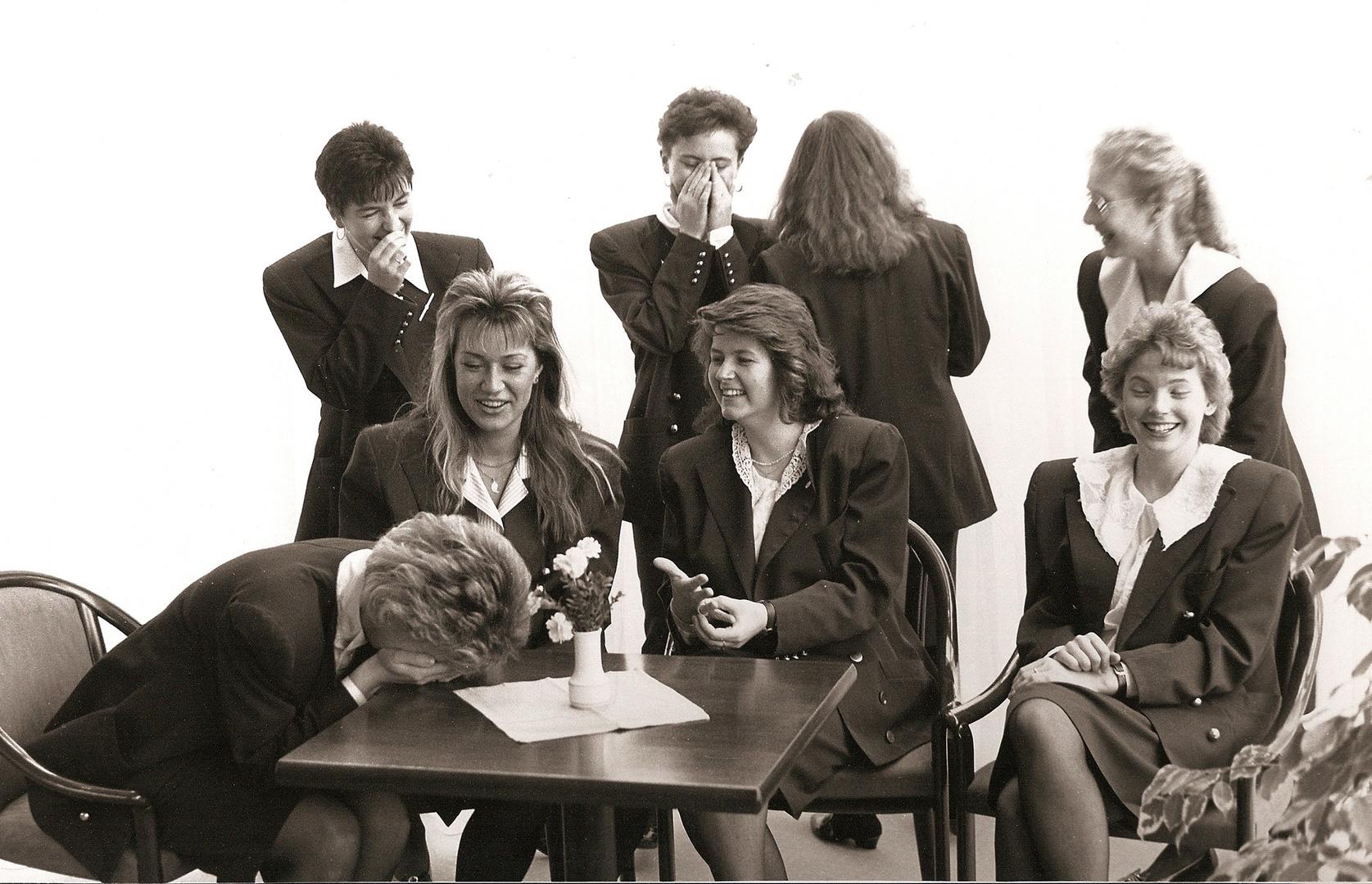 Archiv 41, Viel Spass beim Fototermin, ca. 1989