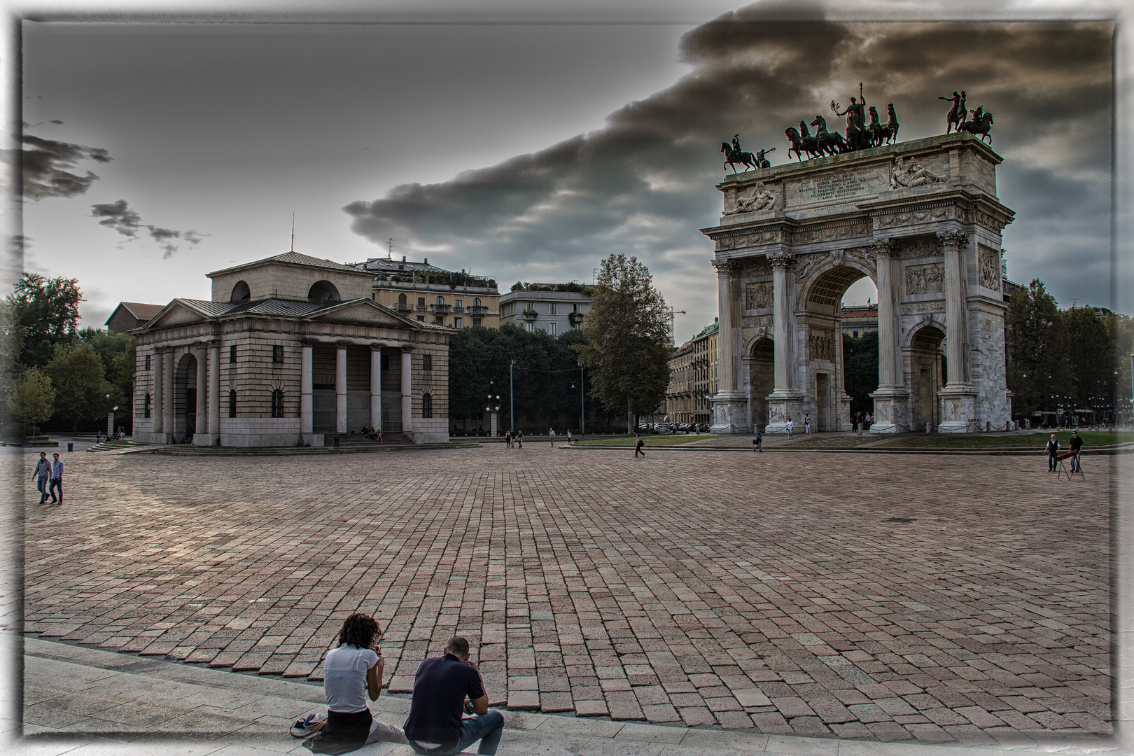 Arco della Pace (Friedensbogen)
