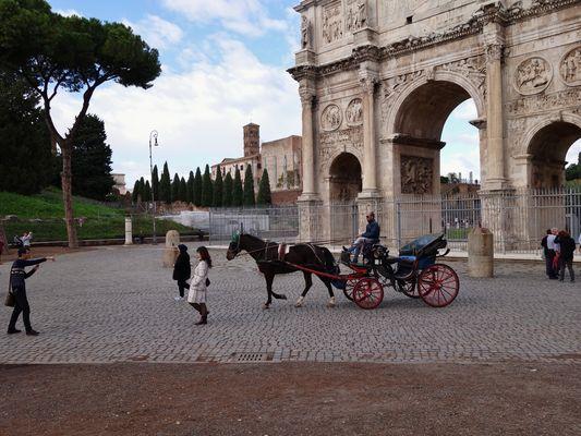 Arco di Costantino - L'lrresistibile fascino dell'antica Roma