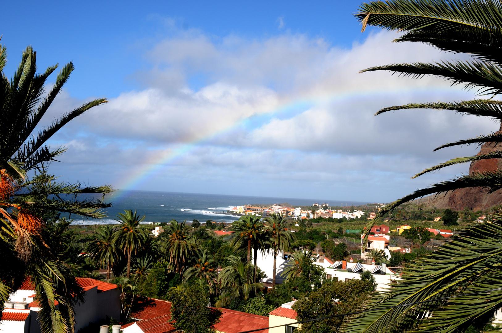 Arco Iris - heute morgen wurde ich von einem Regenbogen geweckt