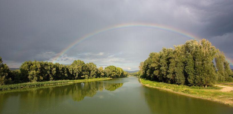 arcobaleno a ponte buriano