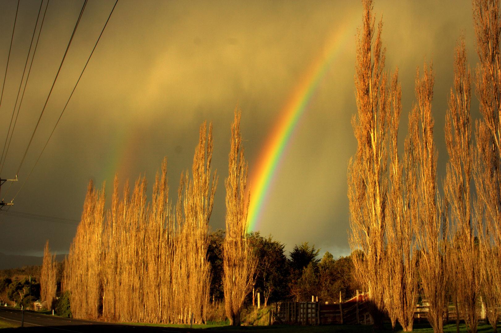 Arcoiris en Tasmania