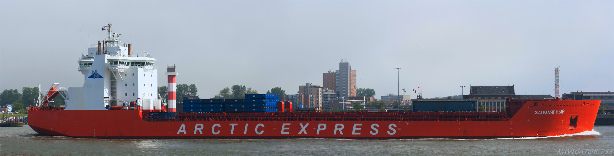 ARCTIC EXPRESS / Eisbrecher + Cargo /  Bitte scrollen!