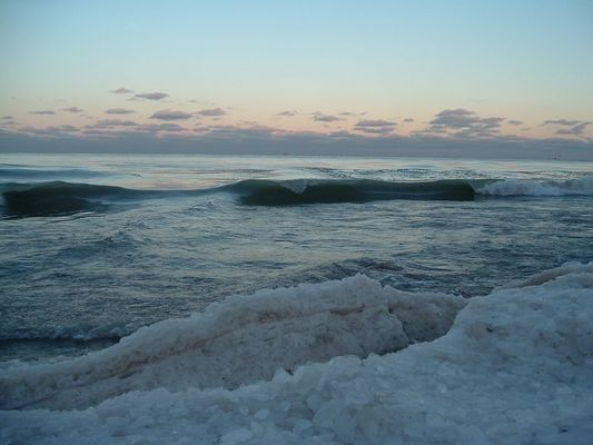 Arctic Lake Michigan