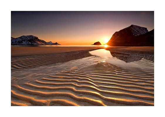 Arctic Light | Haukland Beach