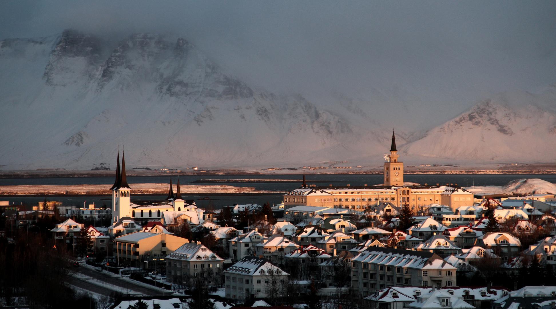 Arctic Winter Sun