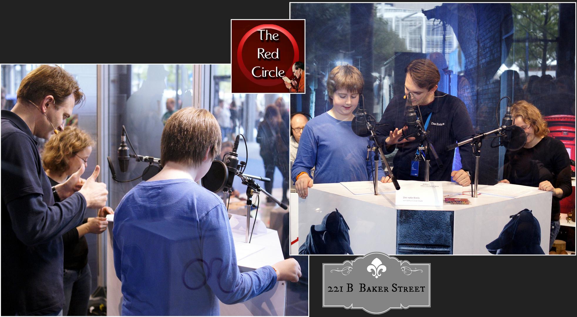 ARD-Hörspielproduktion mit Kindern