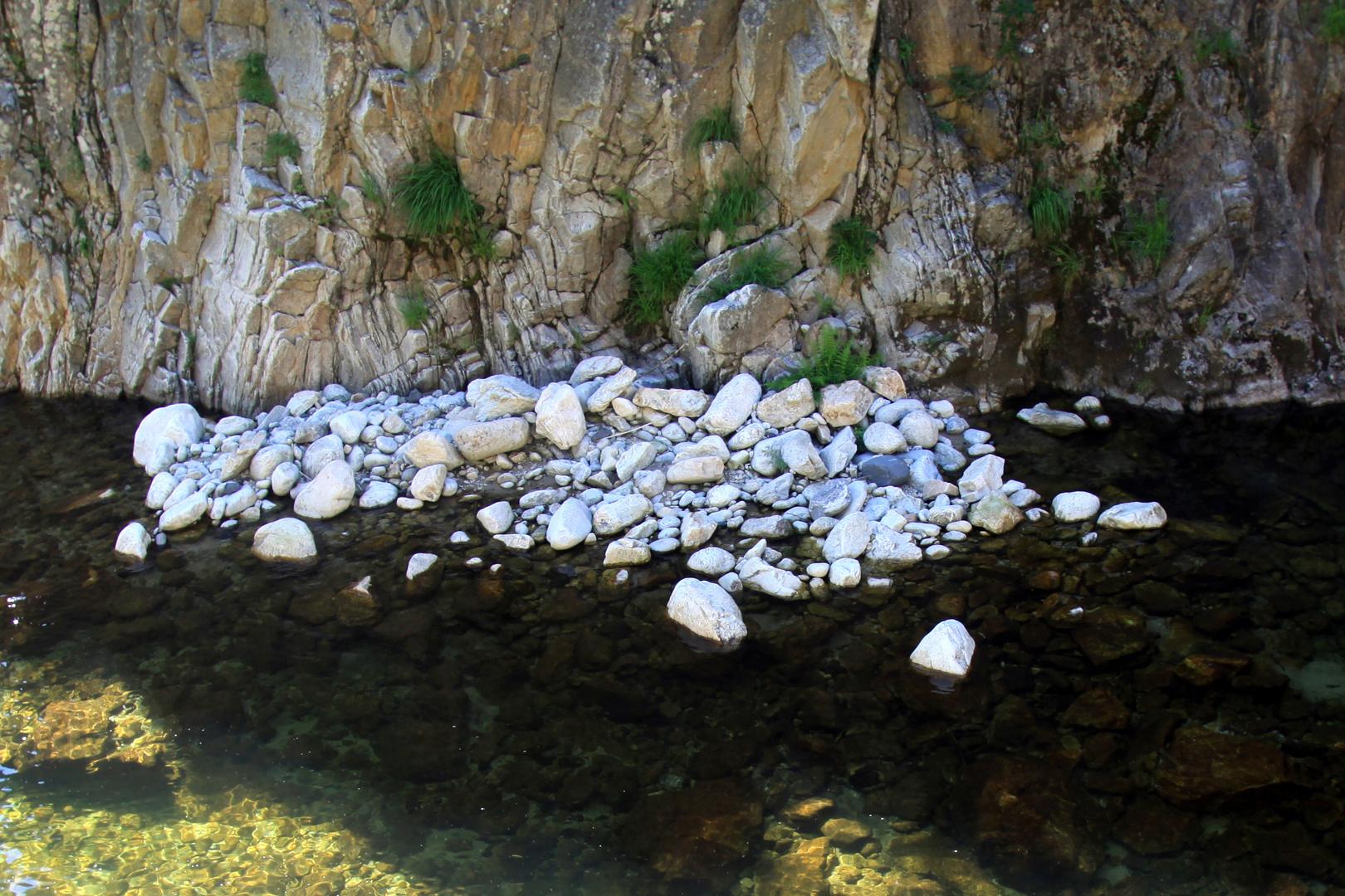 Ardèche - Oberlauf in den Cevennen
