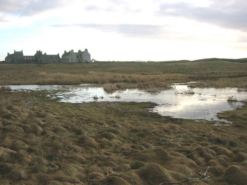 Area round Skara Brae Orkney Island