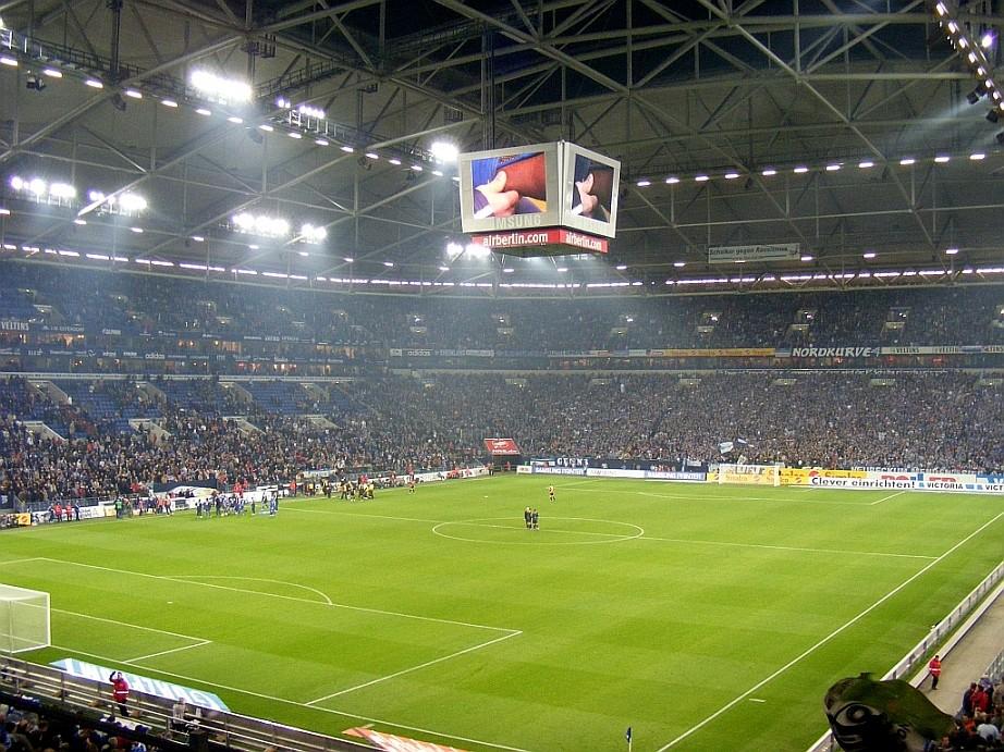 Arena auf Schalke Schalke 04 - Hannover 96