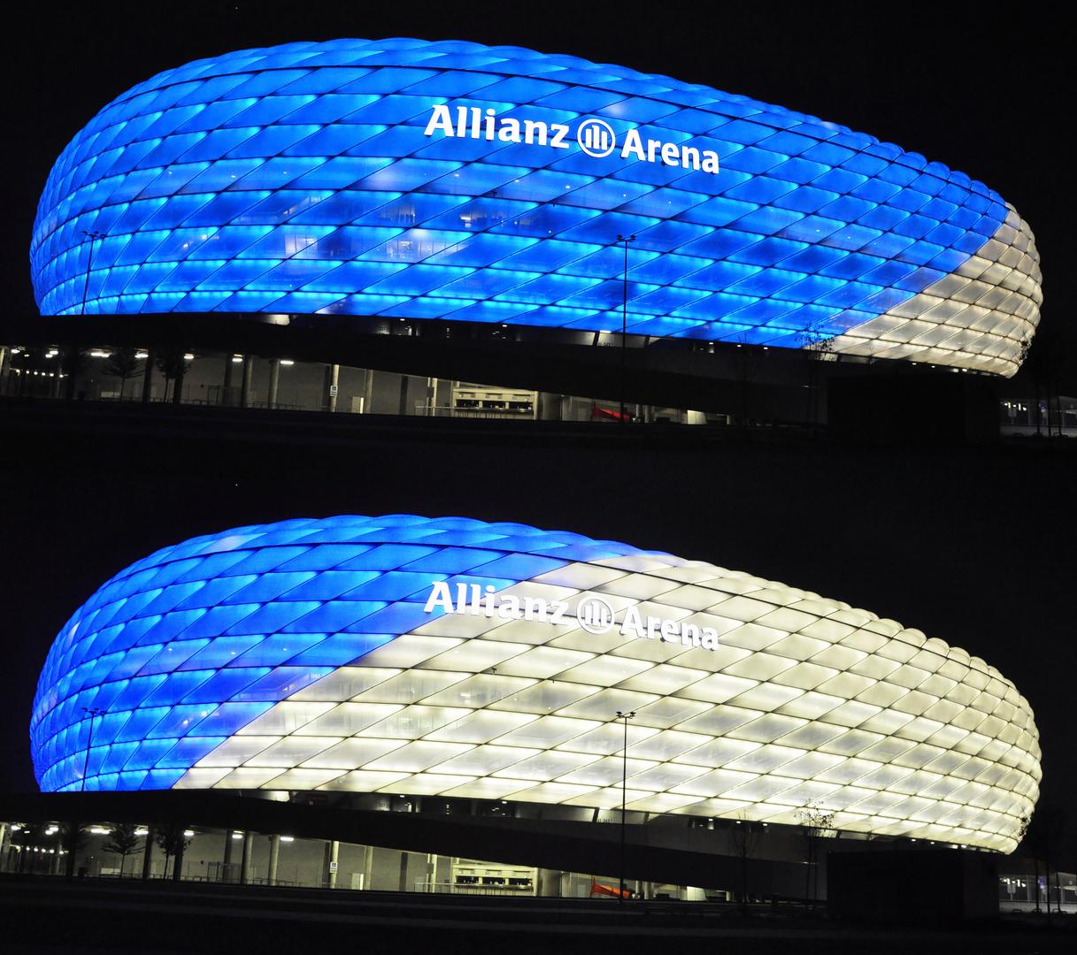 Arena blau-weiß