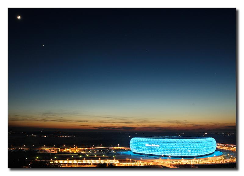 Arena in der richtigen Farbe :)