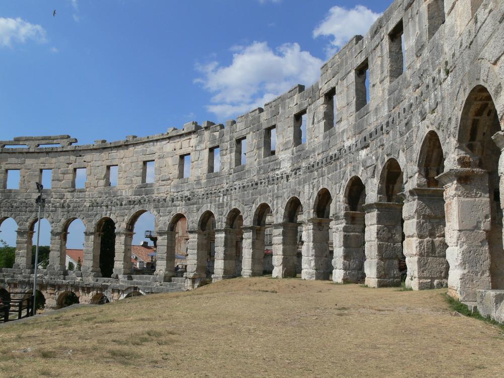 Arena in Pula, Kroatien