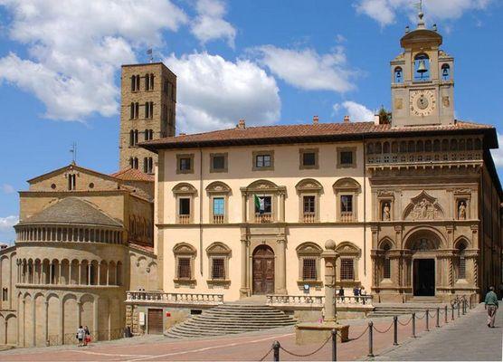 Arezzo 12 Uhr mittags