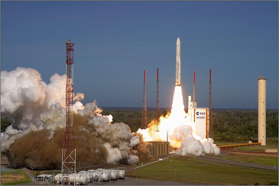 Ariane 5 hebt ab!