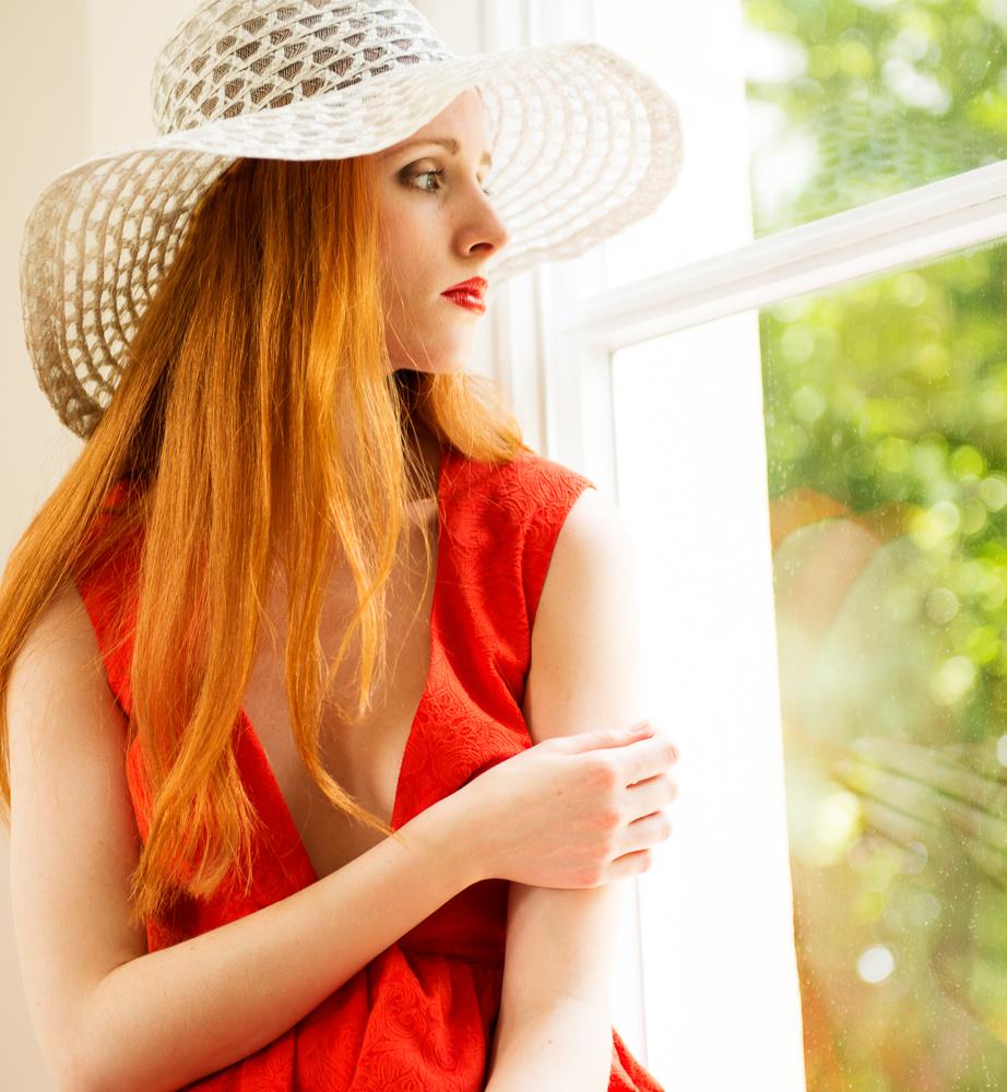 Arijana in Rot