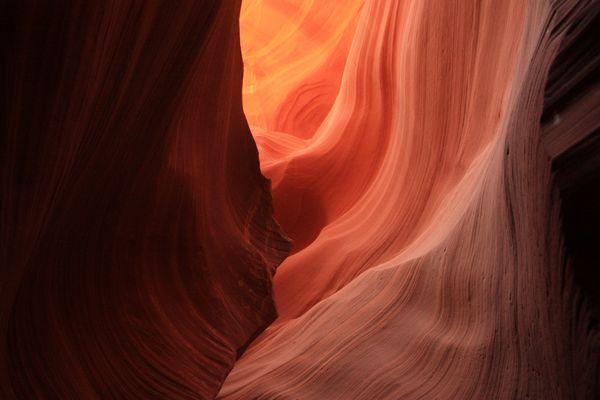 Arizona 2009 / Lower Antelope Canyon / with sun