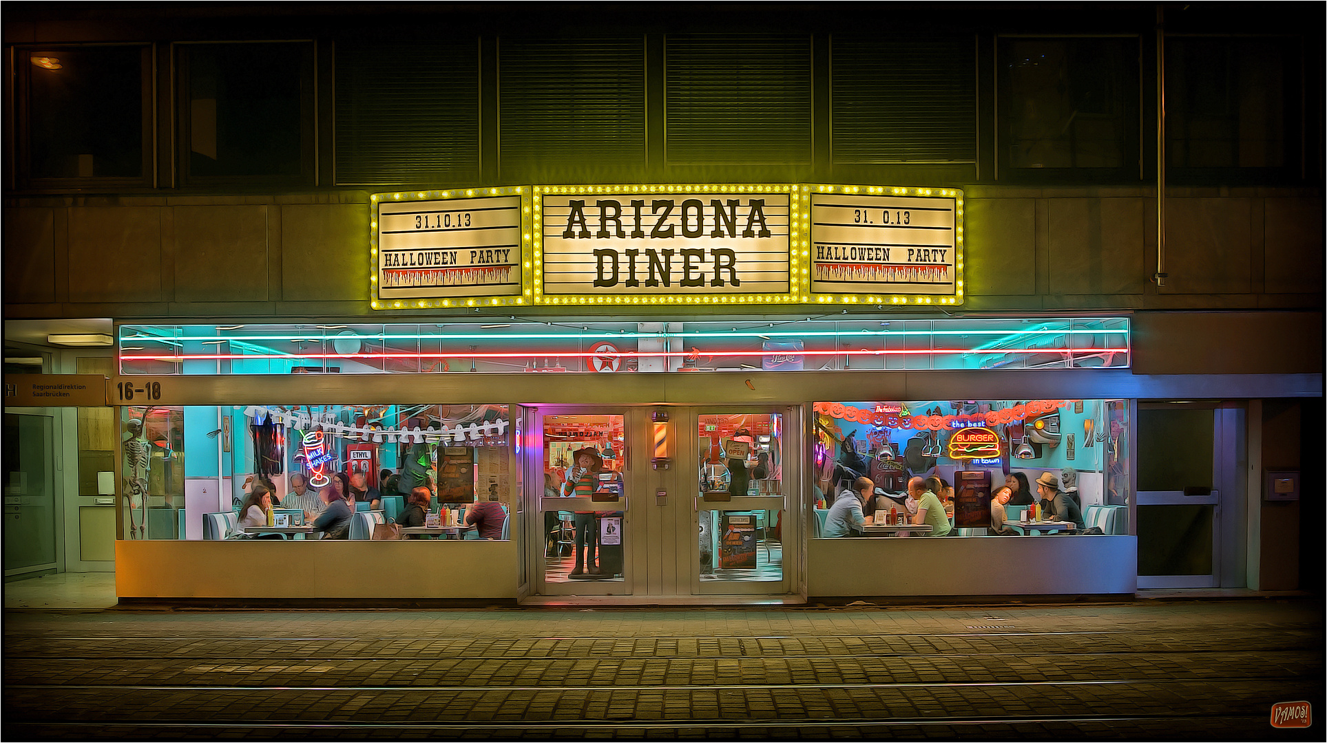 Arizona Diner zu Halloween