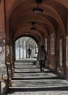 Arkade in Prag