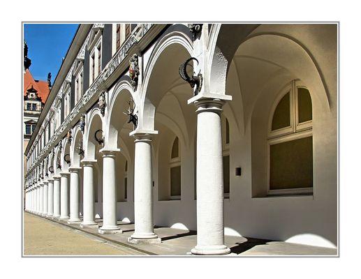 Arkaden in Dresden