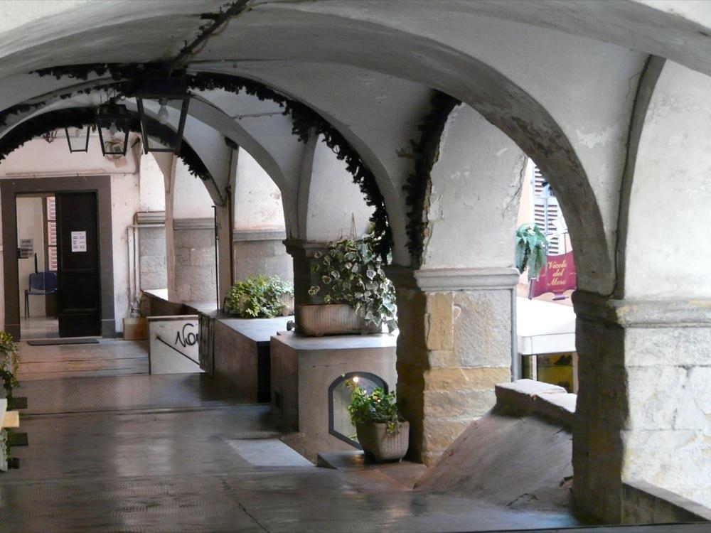 Arkaden in Mondovi