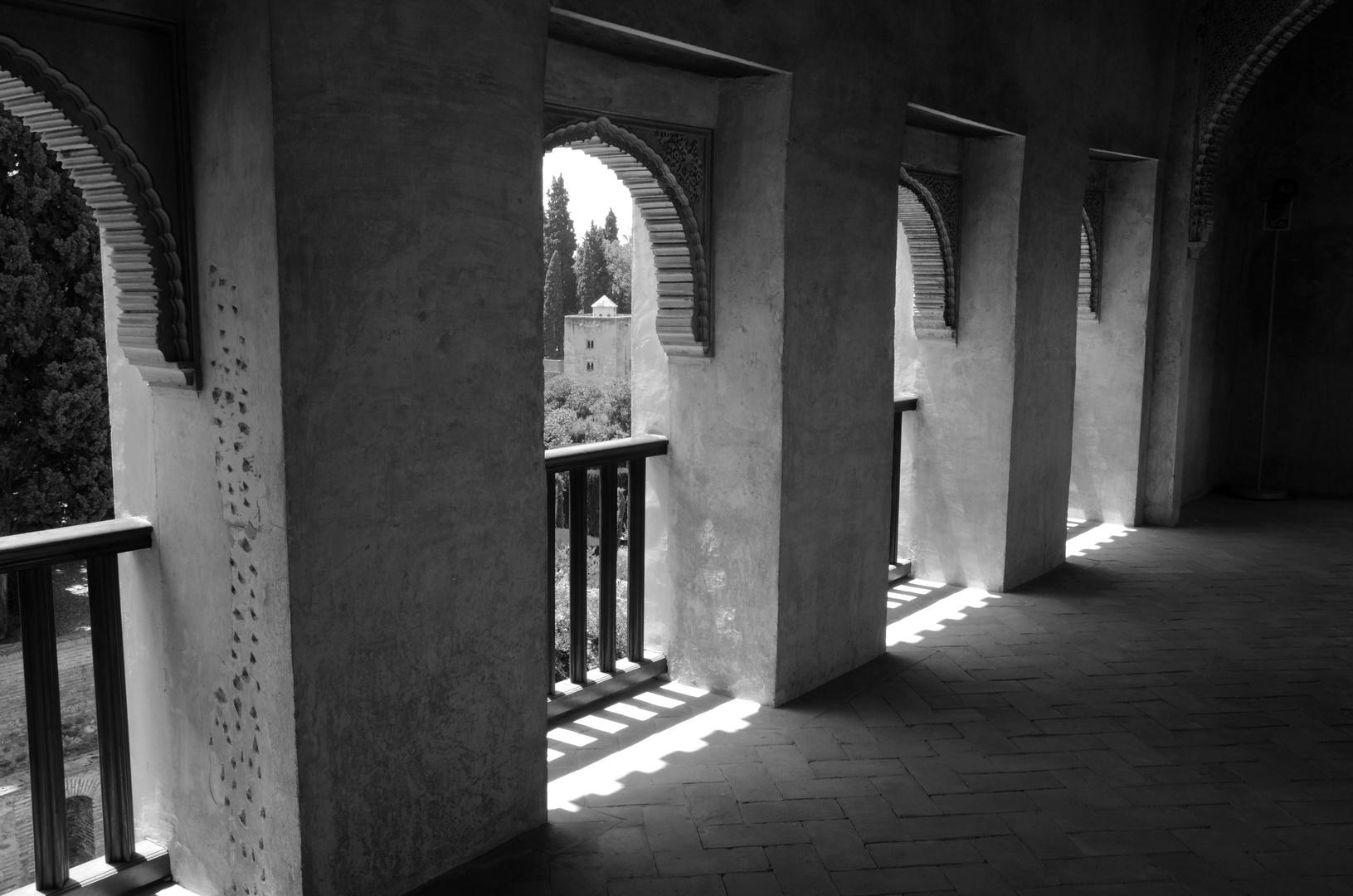 Arkadengang in der Alhambra