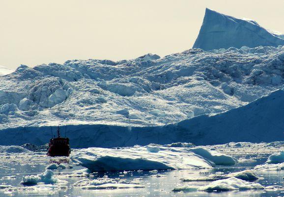 Arktische Eiswelt