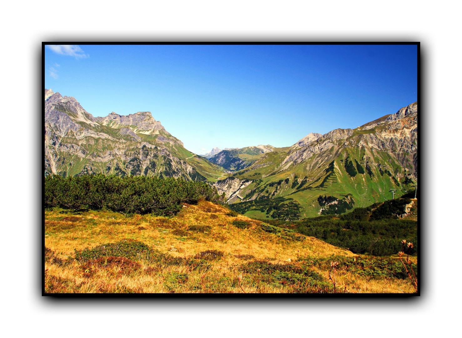 Arlbergtrasse, Zürs