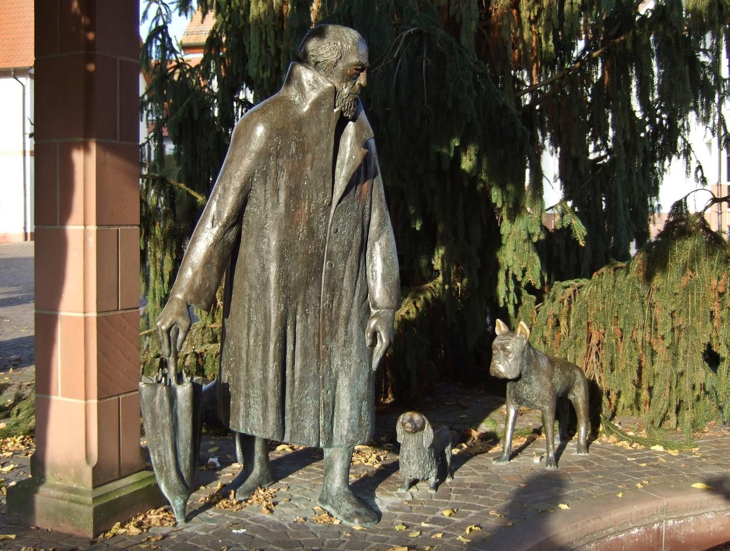 """""""Arme Hunde"""" zu Neuenburg am Rhein"""