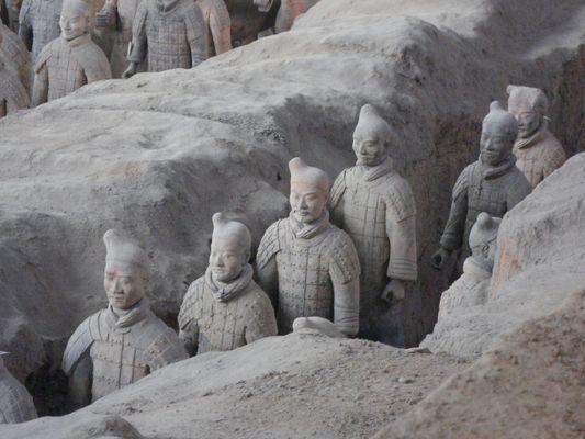 armée enterré a Xi'an