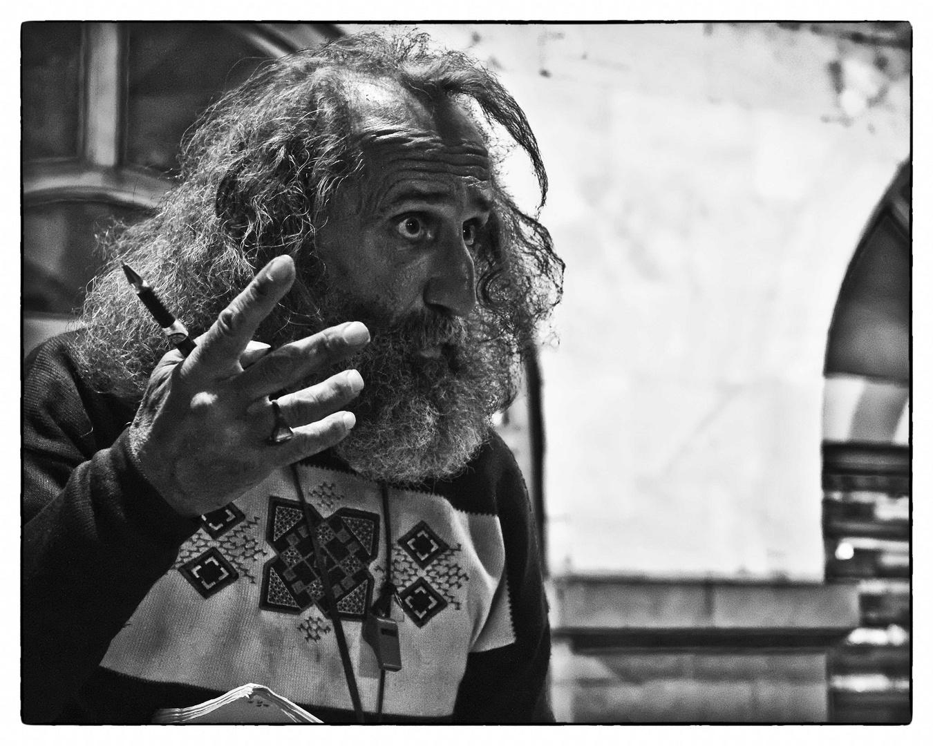 """Armenische Porträts 4 """"Welterklärer"""""""