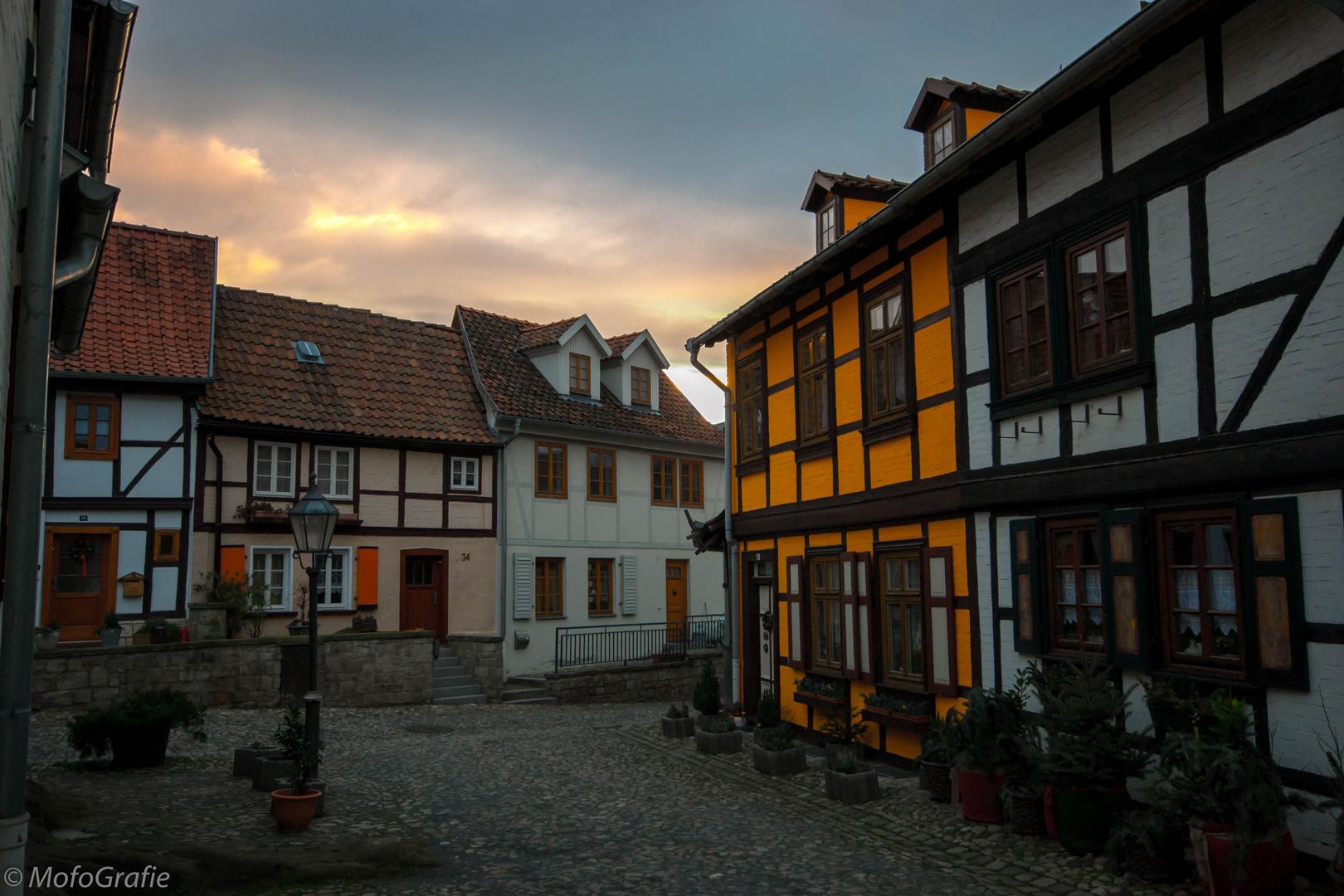 Armenviertel in Quedlinburg