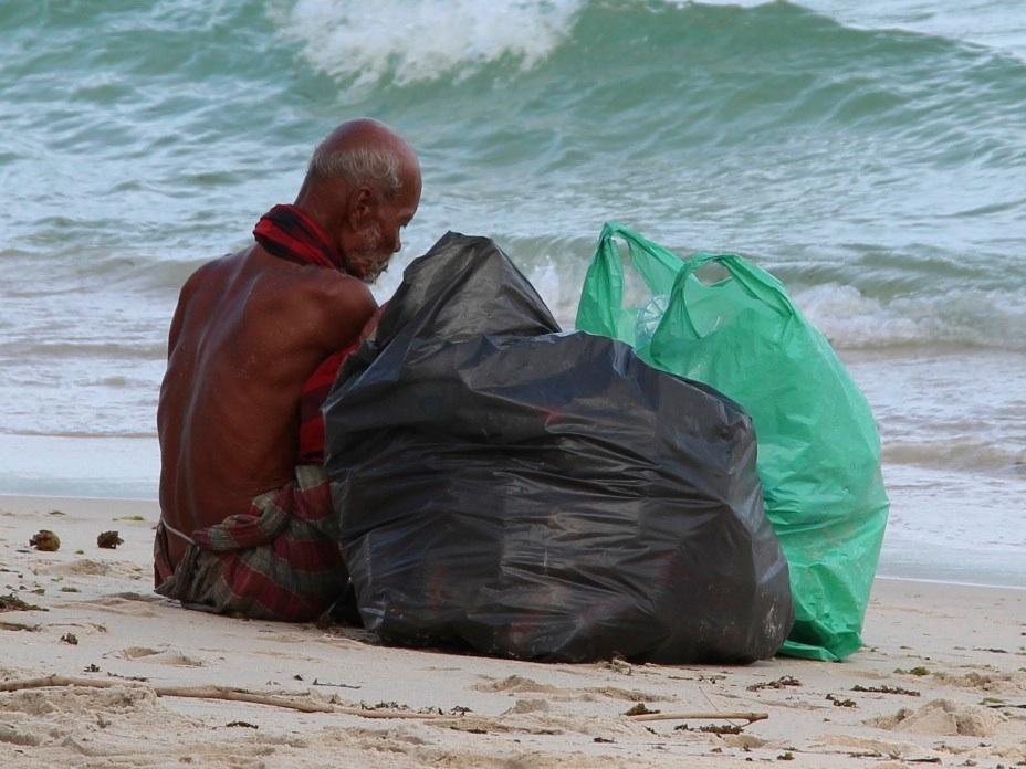 Armut im Paradies...