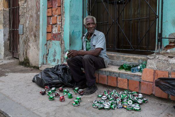 Armut in den Strassen von Havanna