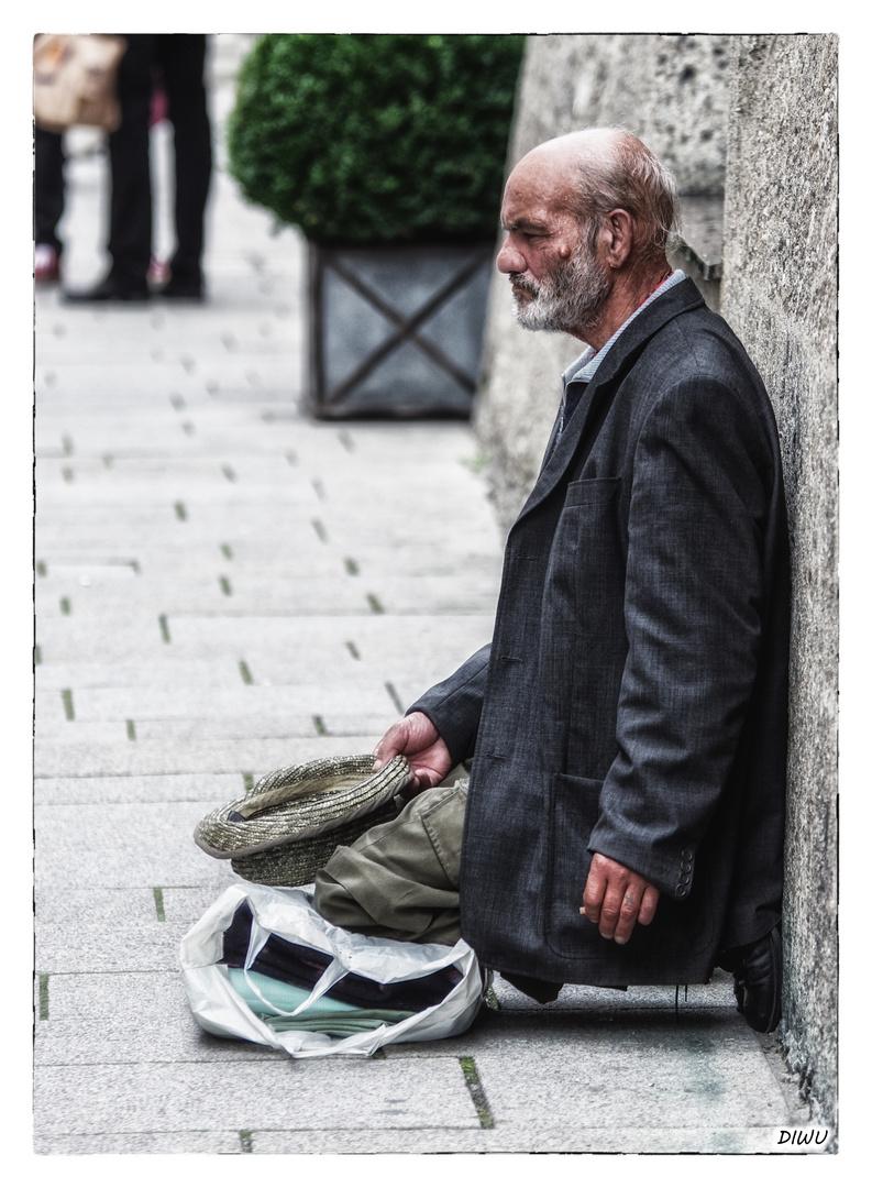 """""""Armut"""" in einer reichen Stadt!"""