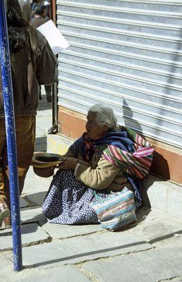 Armut in La Paz