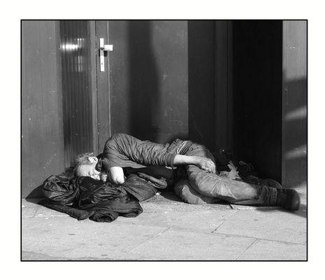 Armut muß Draußen bleiben!
