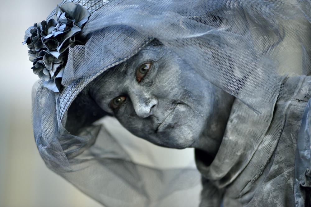 Arnheim - lebende Statue
