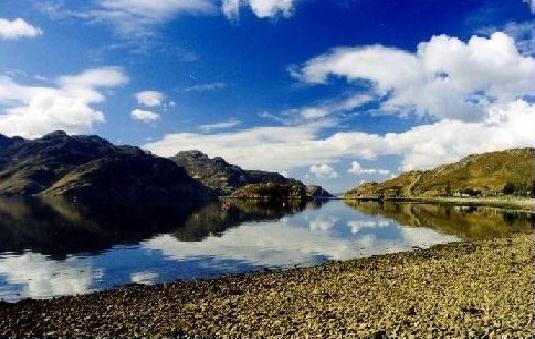 Arnisdale, Nord-West-Schottland