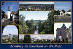 Arnsberg im Sauerland an der Ruhr