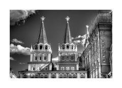 Around Red Square IV b/w