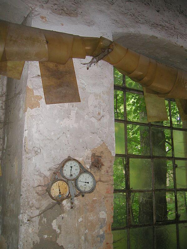 Arrangement im Fleißner -Kesselhaus