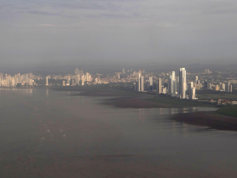 Arribando a Ciudad Panamá