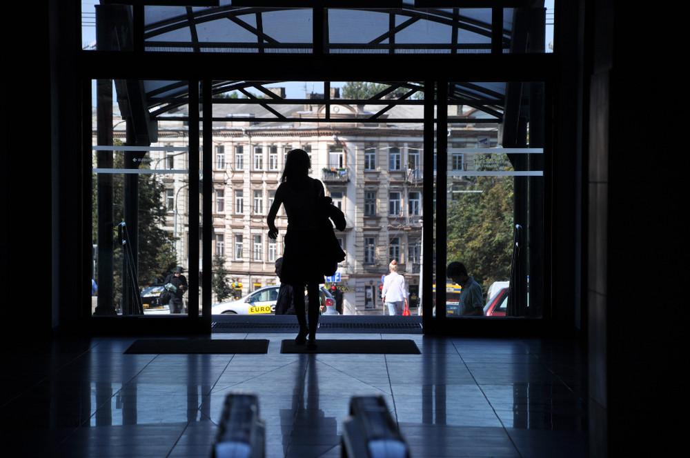 Arrival at Vilnius Central Station