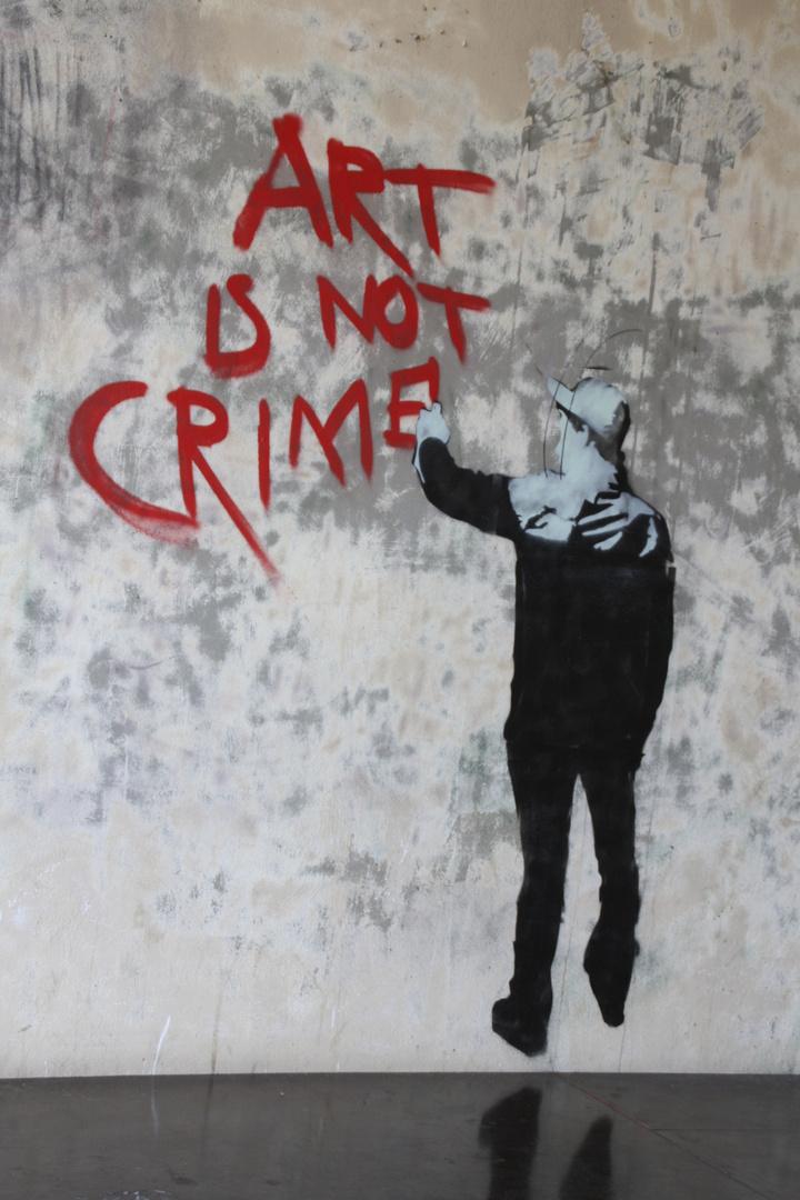 art is not crime