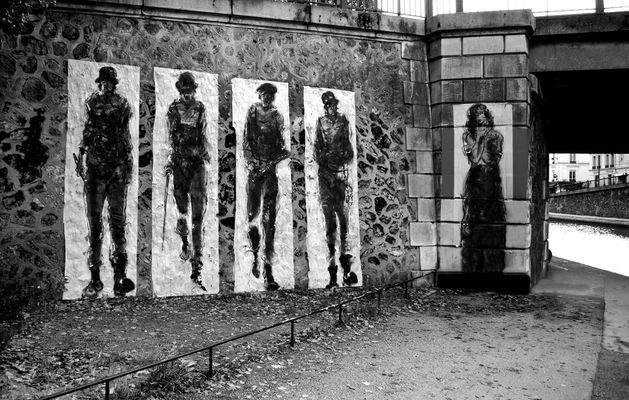 Art urbain à Paris