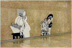 Arte alla Metropolitana di Lisboa