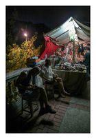 Artesanos a la sombra (Mercat Medieval 2012 Esplugues Ll. Barcelona Catalunya)