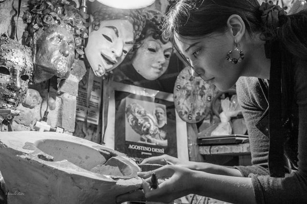 ... artigiani fiorentini... maschere